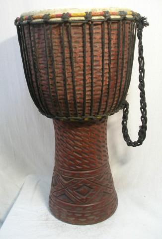 Джембе из Ганы, 13 дюймов. Код 12-14