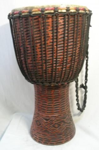 Джембе из Ганы, 13 дюймов. Код 12-16