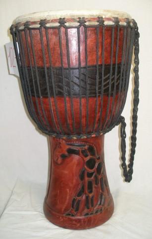 Джембе из Ганы, 13 дюймов. Код 12-6
