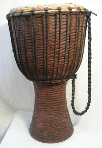 Джембе из Ганы, 14 дюймов. Код 14-6