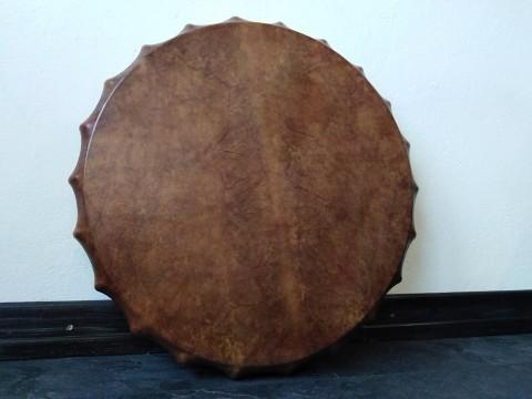 Бубен ЛЕСНАЯ СОВА - 570 руб. Мембрана 56 см (кожа - коза, ручка - ясень).