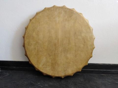Бубен САХАРА. Мембрана 56 см (кожа - козёл, ручка - клен). ЦЕНА - 690 BYN (230 EUR)