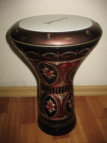 Дарбука турецкая медная с гравировкой. Цена - 490 BYN (180 евро)