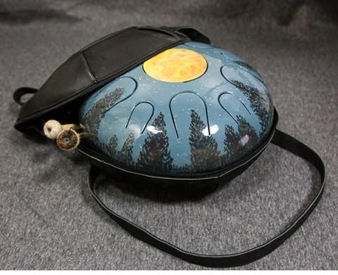 Хэппи-драм (глюкофон) 30 см на 11 язычков с дингом Луна.ЦЕНА - 515 BYN / 190 EUR