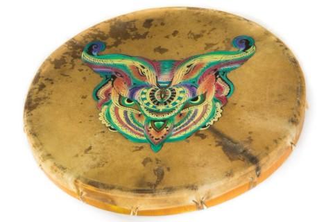 Шаманские бубны с рисунком 50 и 60 см