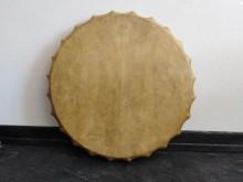 Бубен САХАРА. Мембрана 56 см (кожа - козёл, ручка - клен). ЦЕНА - 570 BYN (чехол - 120 BYN)