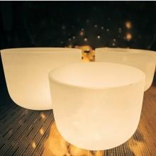 Кристаллические поющие чаши. Размер от 8 до 14 дюймов. Цена от 475 BYN / 175 EURот