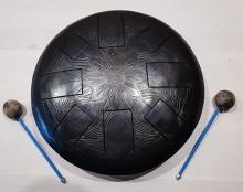 Хэппи-драм (глюкофон) 30 см на 8 язычков кованый с гравировкой. ЦЕНА - 300 BYN