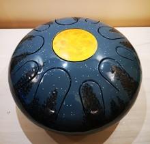 Хэппи-драм (глюкофон) 30 см на 11 язычков с дингом Луна. ЦЕНА - 500 BYN