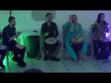 """Новогодний барабанный круг для компании """"Айти Шаг"""" 24.12.16 - """"семёрочка"""""""
