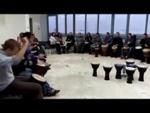 Барабанный круг для компании Capsilon 21.10.16 ч 1